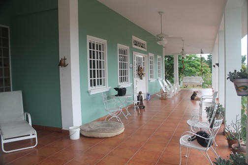 As With Traditional Plantation Houses There Is A Wide And South Facing  Verandah. This Plantation House Has The Added Feature Of A Second Enclosed  Patio ...