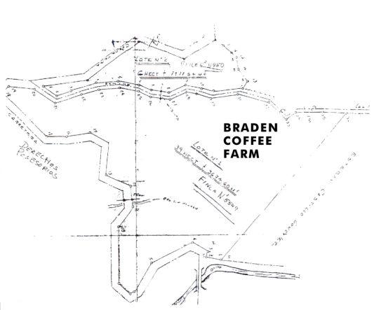 Plot plan of farm