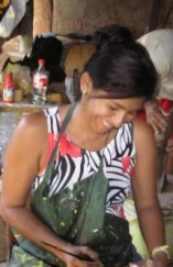 Government help would make Beilka de Mendoza's business opportunity in Panama that much sweeter.