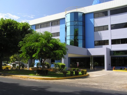 exterior of the Chiriqui Hospital, in David