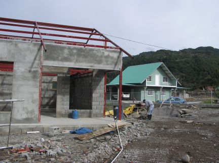 New construction in the Paso Ancho area