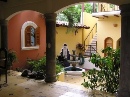 Spanish colonial style interior