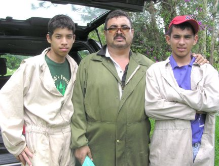 Javier Morales and sons