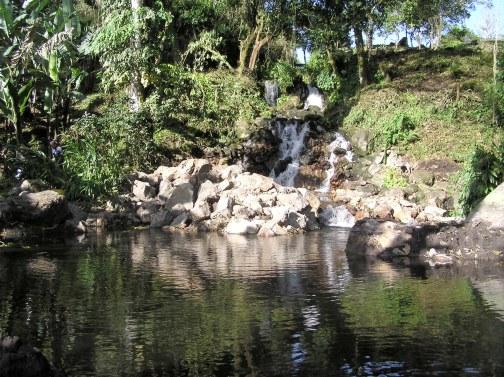 Volcan Springs Ranch falls