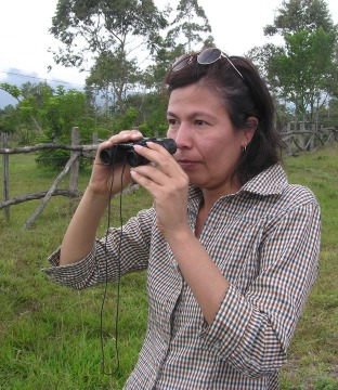 white sparrow discoverer, Maria Vega