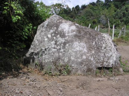 two eruptions on the Castillo petroglyph
