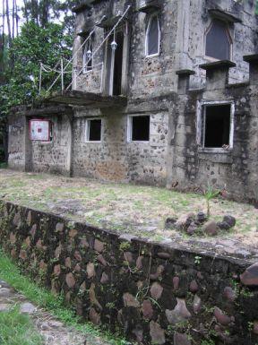 The moat of Pinos de Cobra