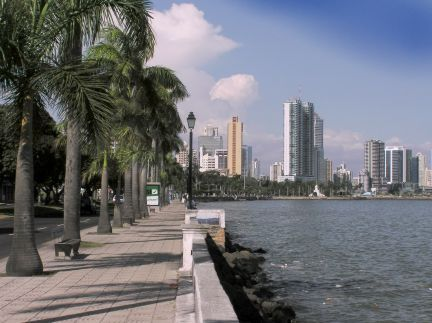 The malecon or seawall walk
