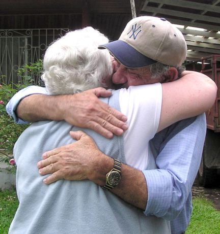 an embrace that was sixty years in the making