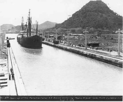 Historic photo of SS Ancon