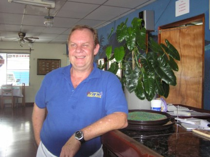 Owner Walter Unholz