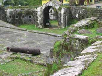 Portobello's Fort Santiago