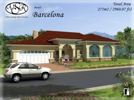 Barcelona design home