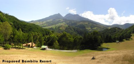 Alpine meadow splendour of the new Bambito Resort.