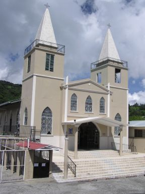 Boquete twin tower church