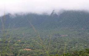 El Valle de Anton sits in the heart of an extinct volcano.