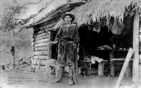1912 picture of the Daniel Boone of Panama