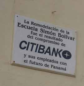 Signs like this tell the story of another Panama real estate investment in progress.