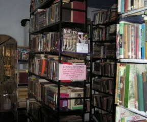 The mysterious 'back room' at the best little bookstore in Panama for ex-pats.