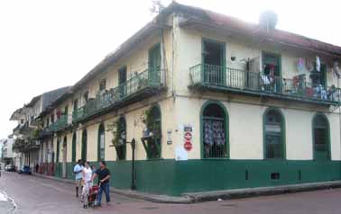 This old mansion is typical of real estate in Panama--restoration projects for sale for $200,000 to $500,000.