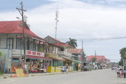 Bars, restaurants and gift shops give the town its unique character