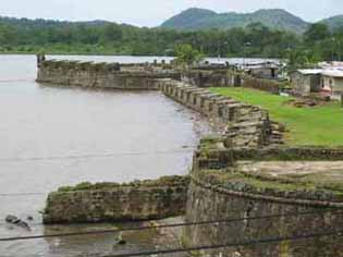 Fort San Geronimo, Portobelo