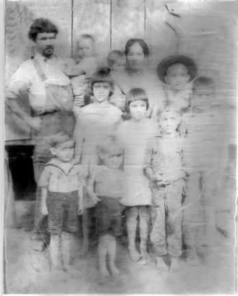 early Hartmann family picture