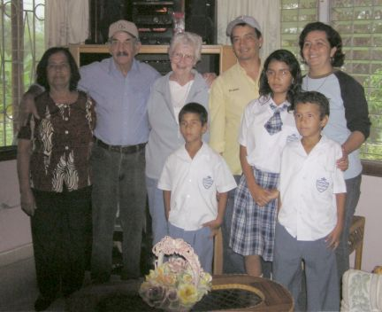 Ziska and family and Lois Pfeifer
