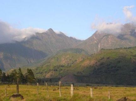 Volcan view to Baru Volcano