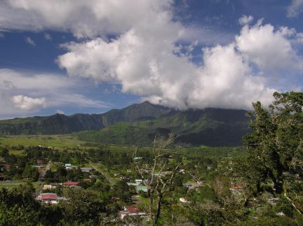 Volcan's wide and spacious Alpine valley