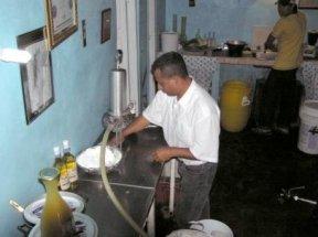 Careful preparation is behind Jorge's Panama wines.