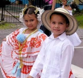 The future of Panama on parade.