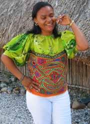 A Kuna mola blouse.
